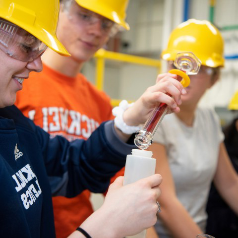 Students in haRD hats