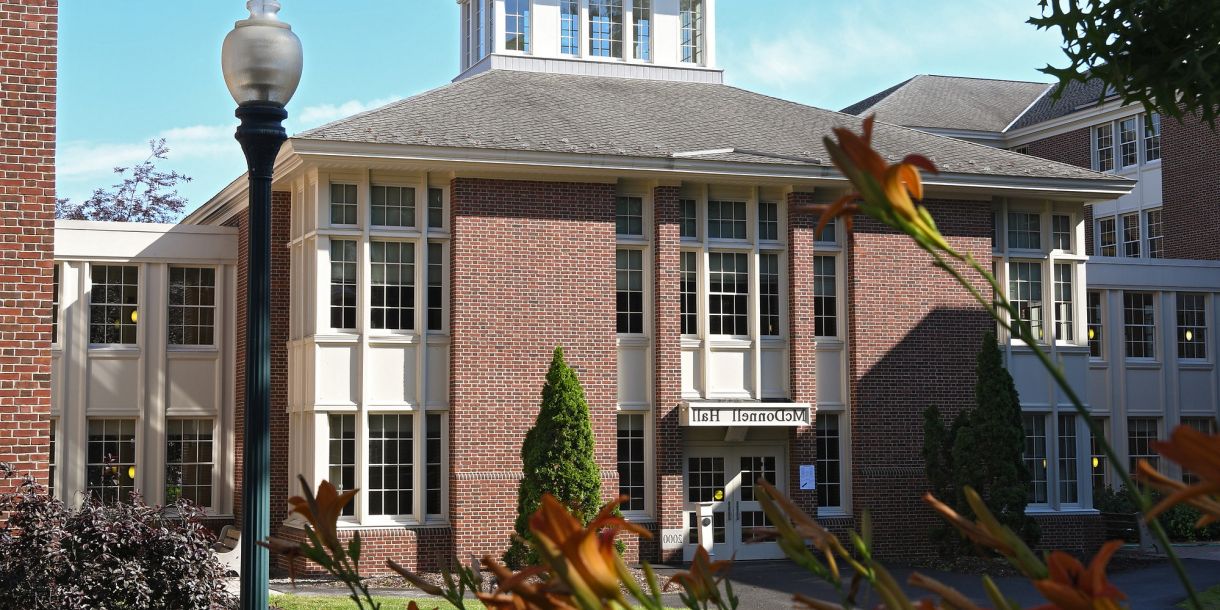 Exterior of McDonnell Hall
