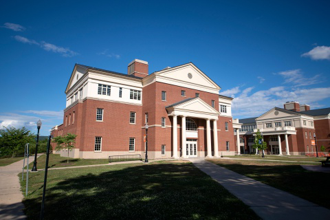 Exterior of Academic West